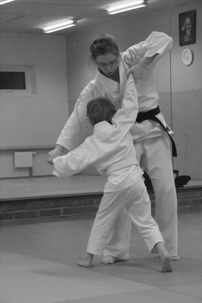 barn-träning aikido