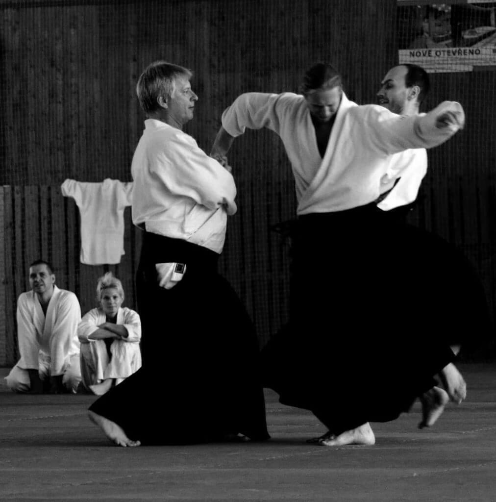 Sankyo är en aikido-teknik